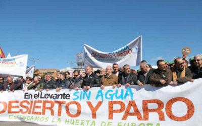 ASAJA llama a un paro agrario el lunes 24 y a ir a Madrid por el Trasvase