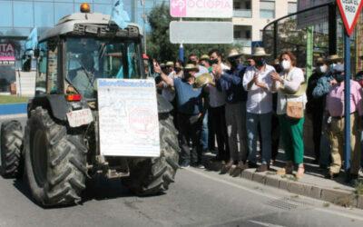 Oleada de protestas en el día de San Isidro contra los recortes del Trasvase