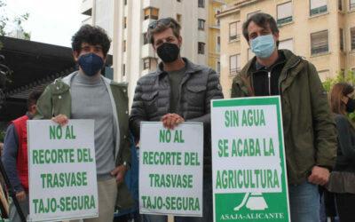 ASAJA Alicante muestra su repulsa al segundo revés de la Mesa del Agua