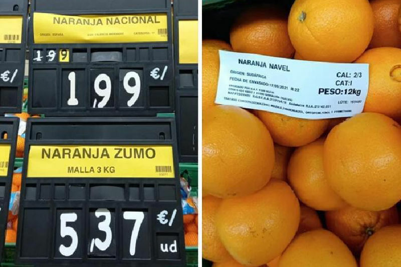 naranja sudafrica