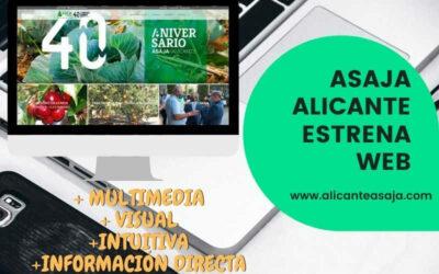 Nueva Página Web de Jóvenes Agricultores ASAJA Alicante